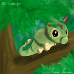 Pokemon Challenge 010-Caterpie