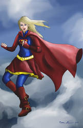 Super Girl (With Clothing) by midgear