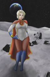 Power Girl (With Clothing) by midgear