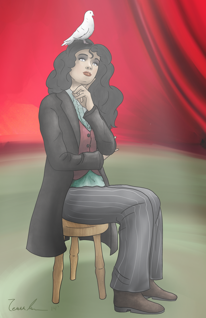 Zatanna by midgear