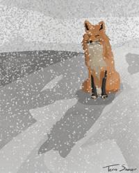 Snowy Days by midgear