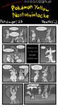 Pokemon Yellow Nostalgialocke P100
