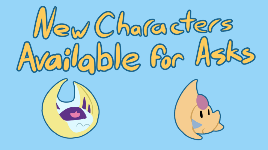 New Characters Available For Ask 2