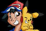 Ash and Kaholo
