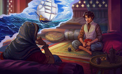 Voyage of the Herald by adrhaze