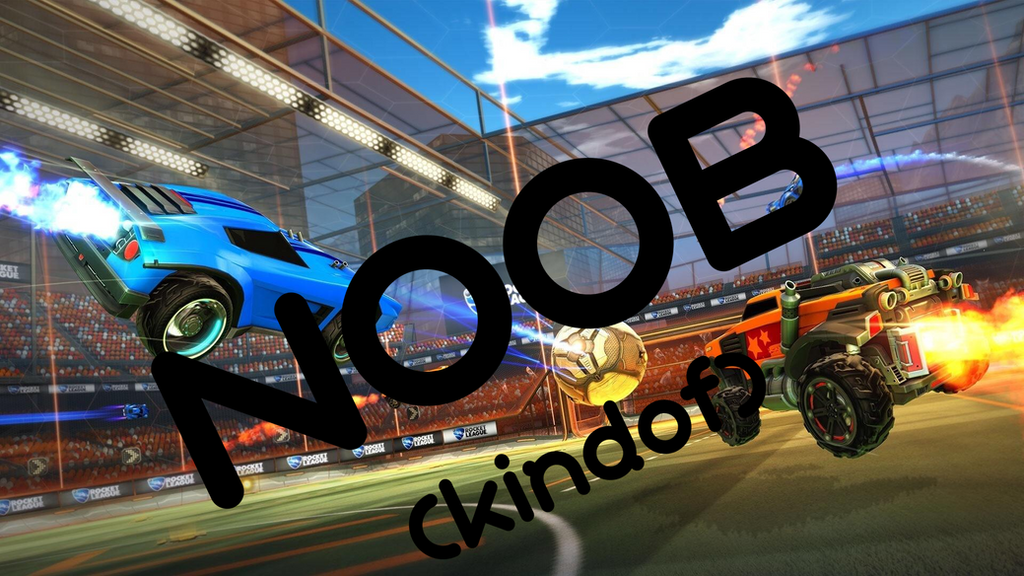Rocket League - I'M A NOOB (Kindof) Thumbnail by FlimsyFox