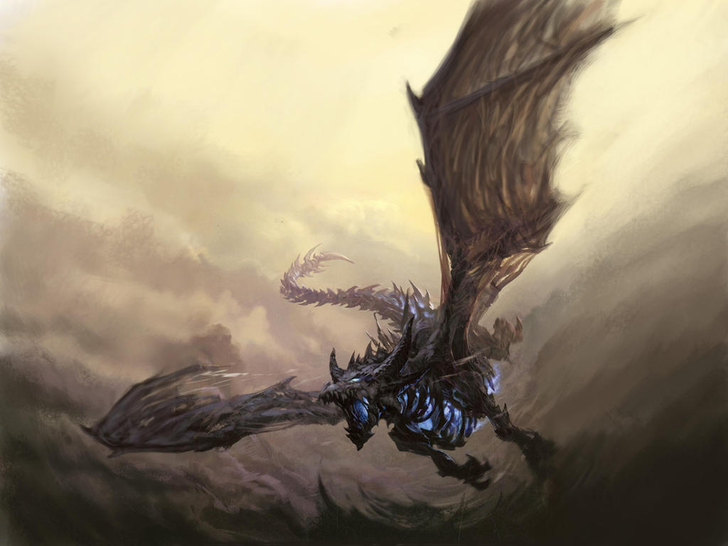 Sindragosa by A... Flying Fantasy Dragons