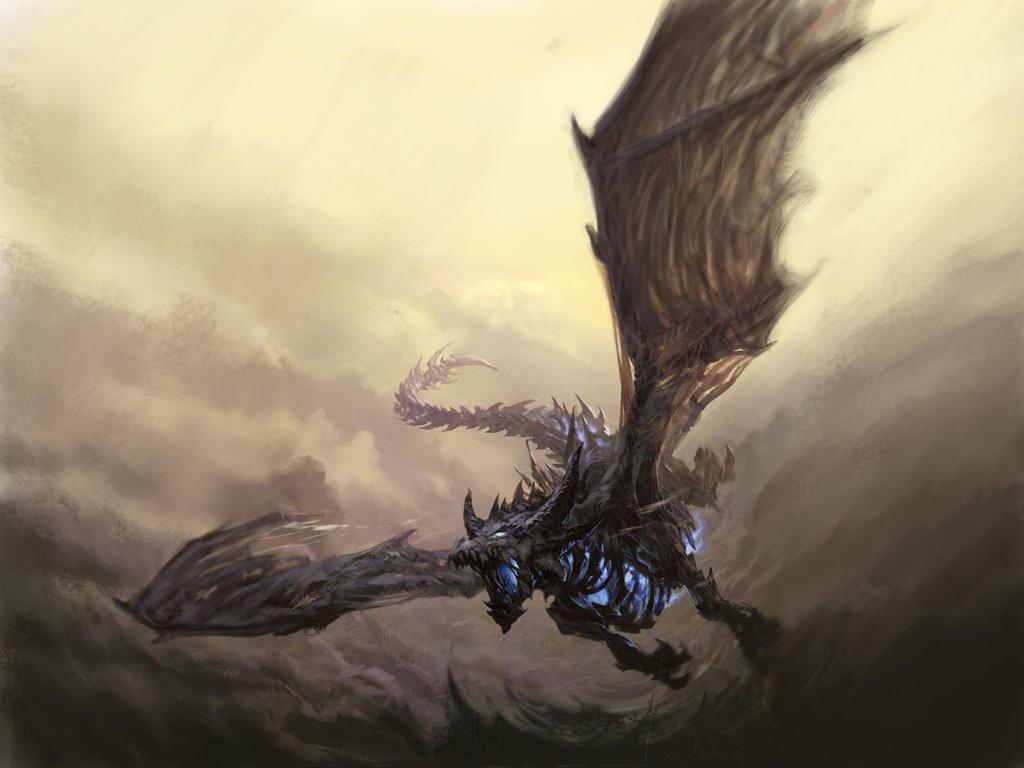 Undead Dragon Sindragosa_by_apocalypse_tr