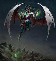 Illidan Stormrage by Apocalypse-tr