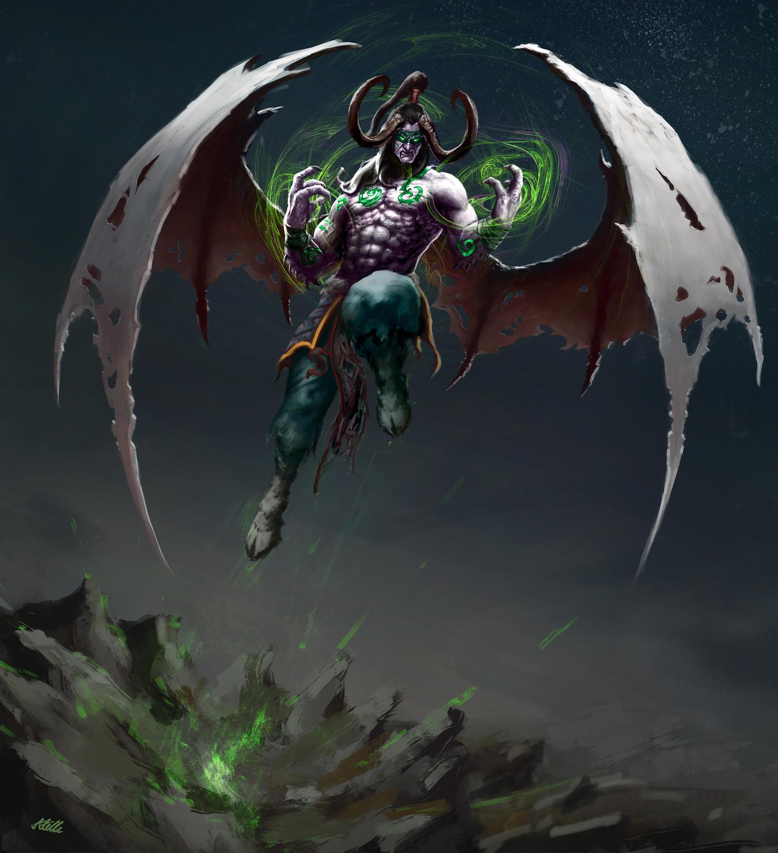 Illidan Stormrage by Apocalypse-tr on DeviantArt