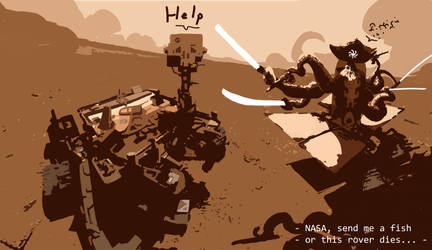 Ektaput - the Martian Rover Hunter