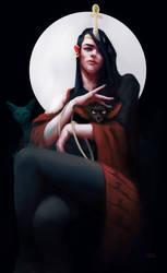 Irene the Spirit Caller and Schrodinger's Cat