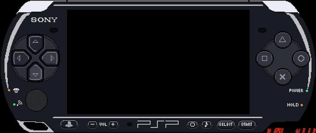 Sony PSP 3000 by RedBlackWorm689