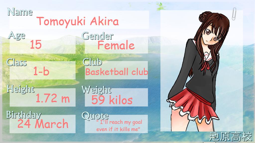 Tomoyuki Akira application form by ivanna33
