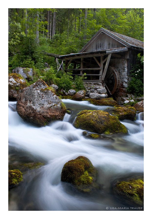 water mill by Lisa-M-T