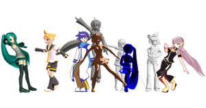 [MMD Effect DL] ShitapparaP Effects Pack