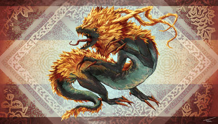 Chinese Dragon by IkazuDasWhale