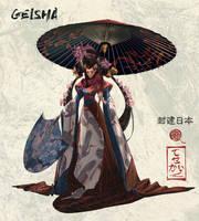 Geisha - Feudal Japan 4/8