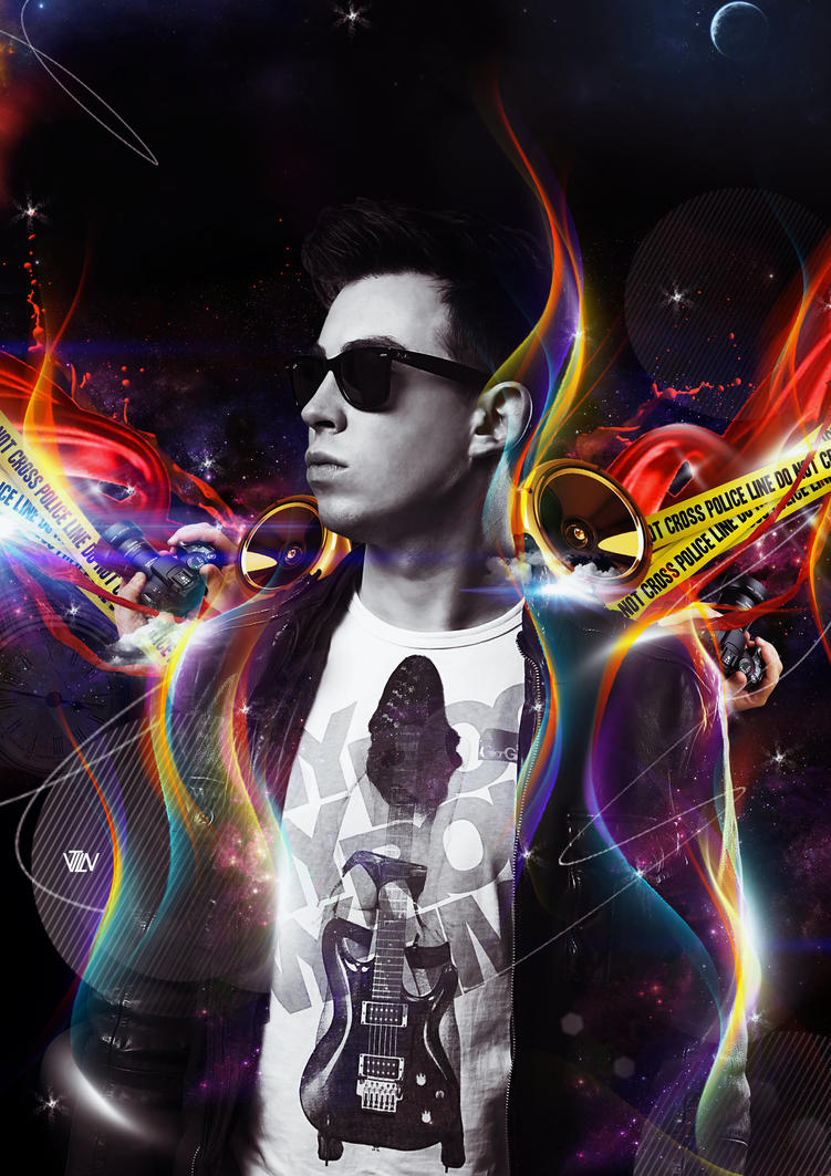 Dj hardwell spaceman by chimankardus on deviantart - Djgames deviantart ...