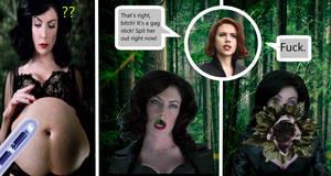 Black Widow shocks Serleena