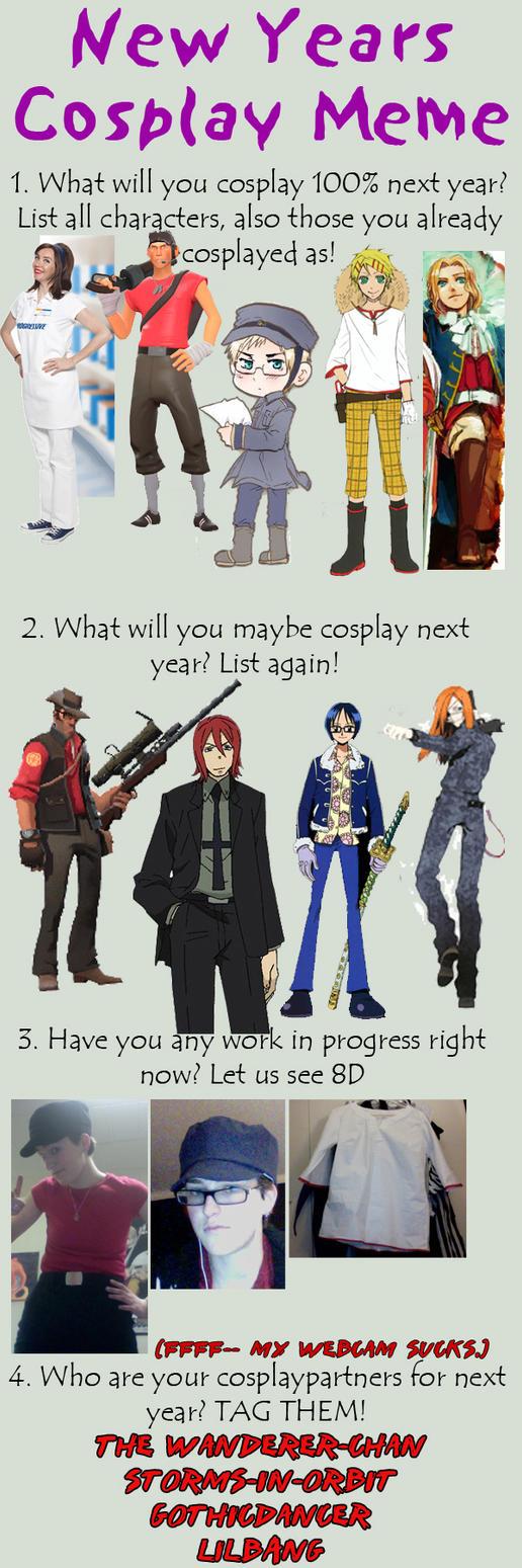 2010 Cosplay Meme by Kat326
