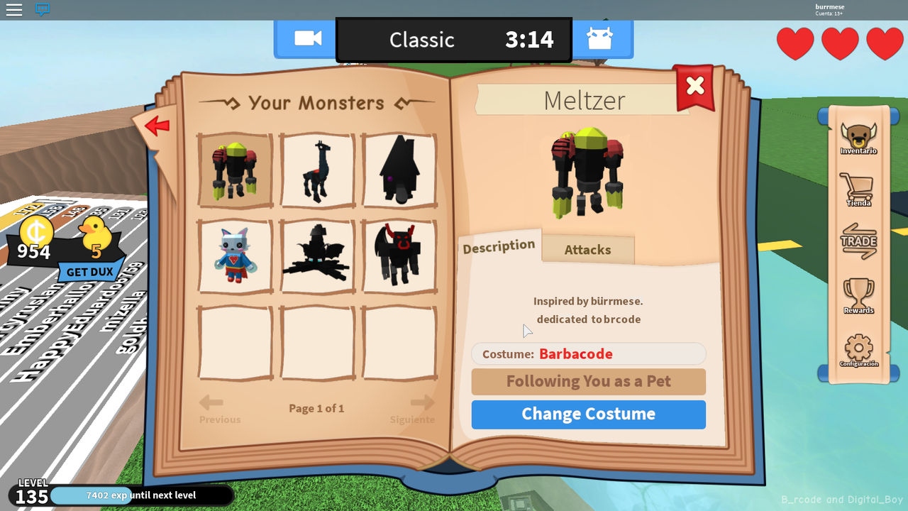 Book Of Monsters Concept Meltzer S B Rcode Skin By Burrmeses Red