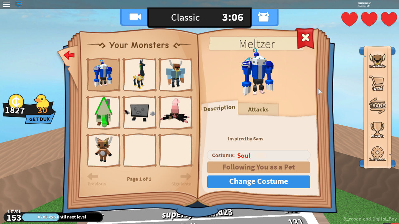 Book Of Monsters Concept Sans Meltzer Skin By Burrmeses Red Cat