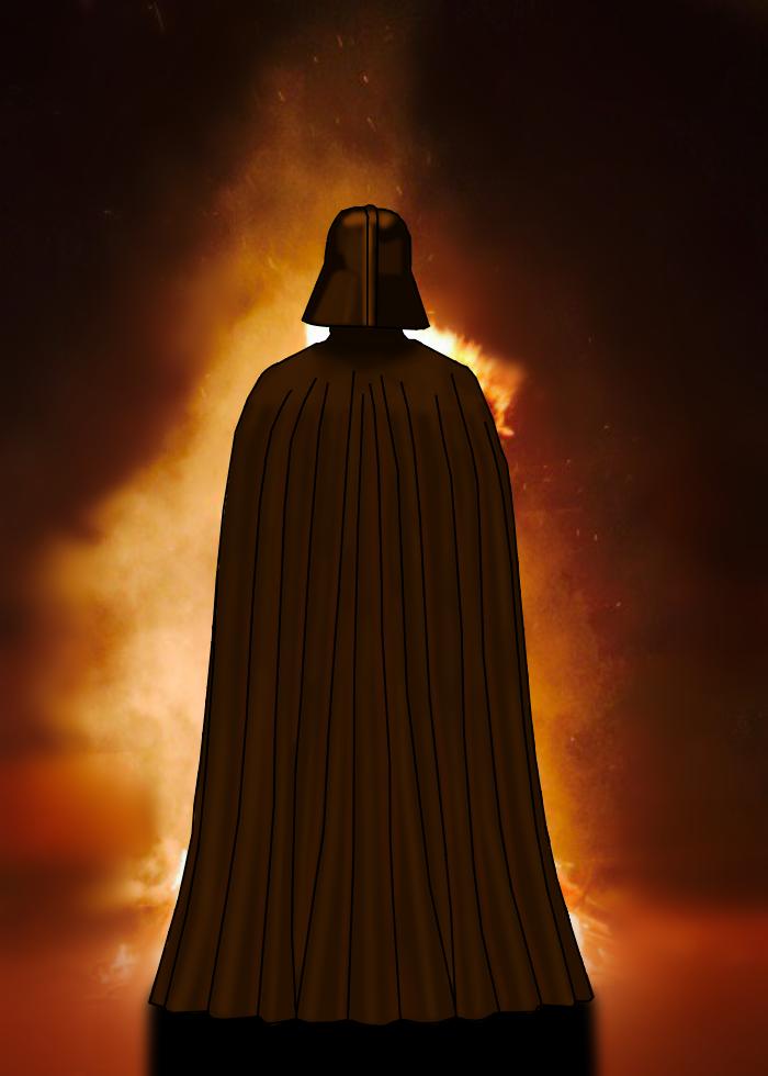 Vader in Mustafar by uzumaki-uchiha-senju