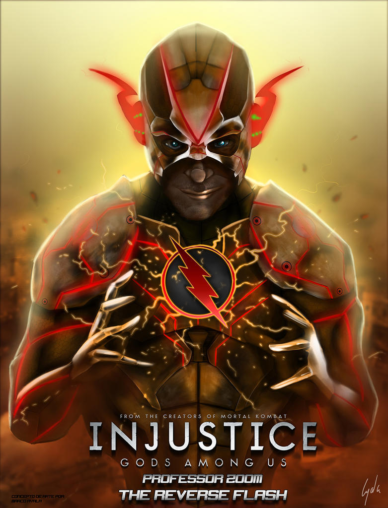 Professor Zoom Injustice Gods Among Us By Fosmark13