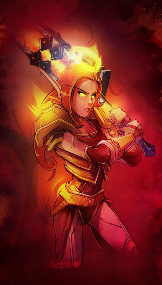 Retadin - Blood Elf Paladin by duneboo
