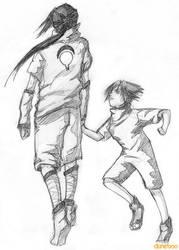 Brothers - Itachi and Sasuke