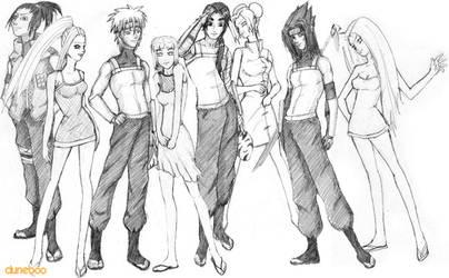 20 Something - Naruto Group