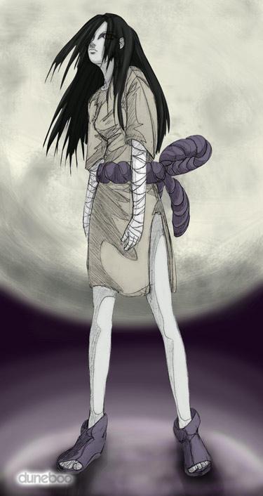 NAFA Contest - Orochimaru Girl by duneboo