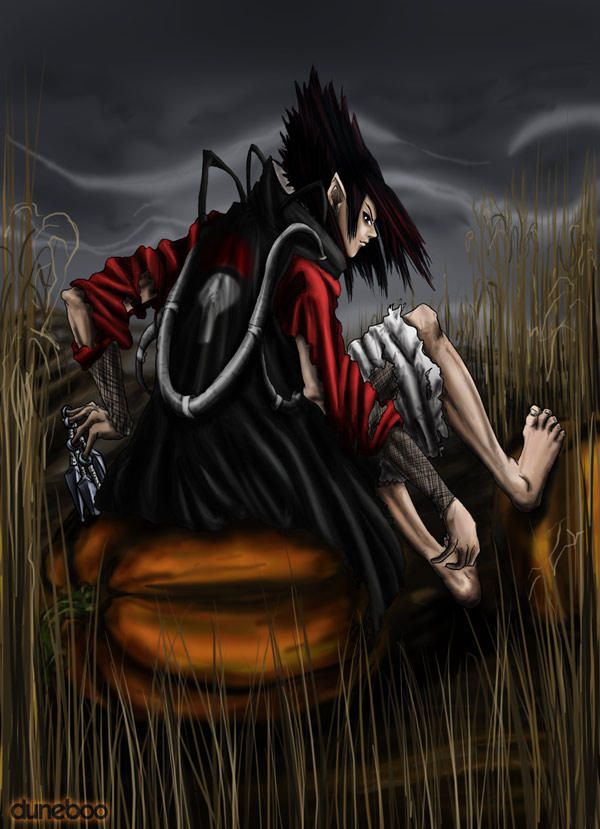 Sasuke the Pumpkin King by duneboo
