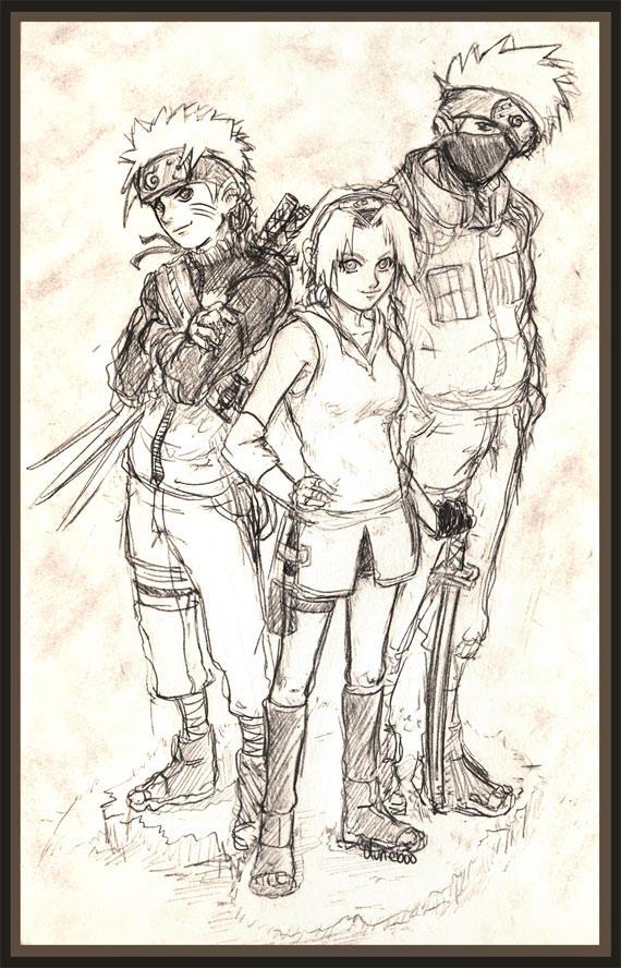 Team KakaNaruSaku by duneboo