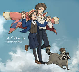 1st Howl's Moving Castle