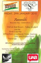 Aarambh Flyer