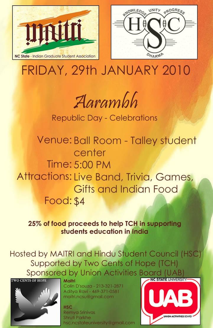 Aarambh Flyer by nikatrex