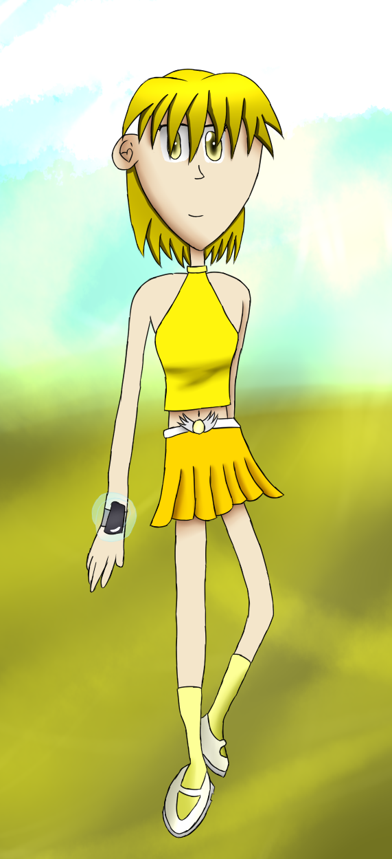 Universal Runners: Calla Gale Character Art by ArtAwakeLight445