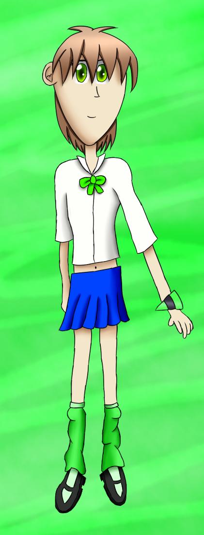 Universal Runners: Kani Kimura Character Art by ArtAwakeLight445