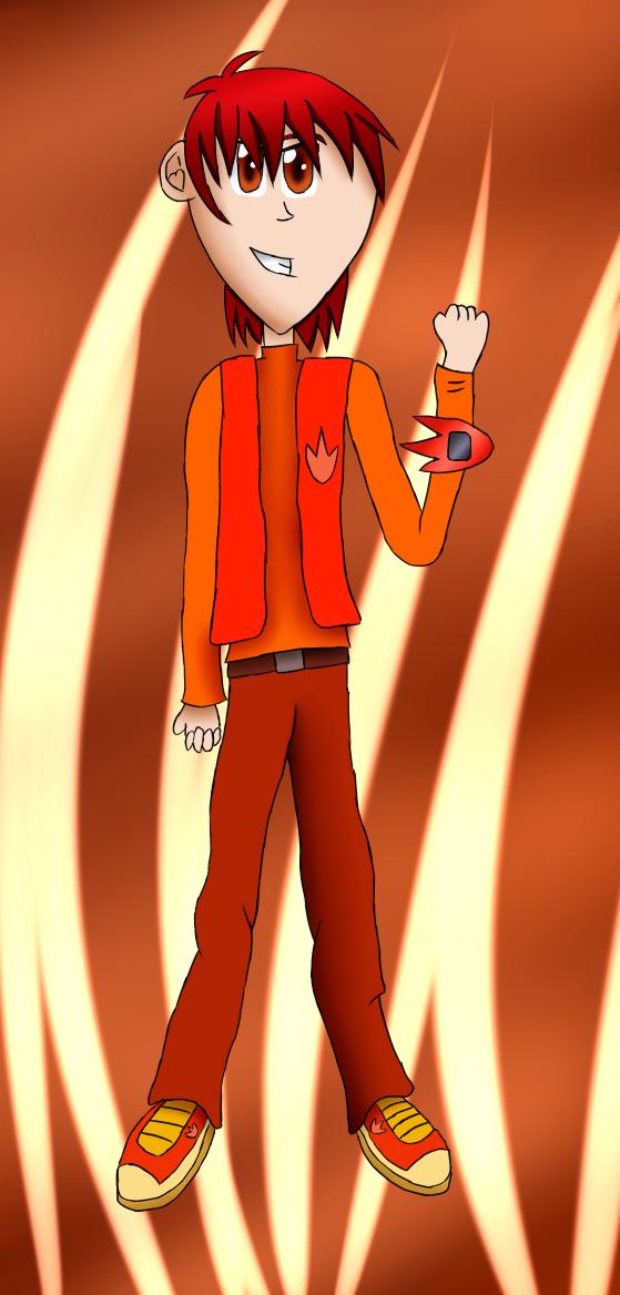 Universal Runners: Bren Revie Character Art by ArtAwakeLight445