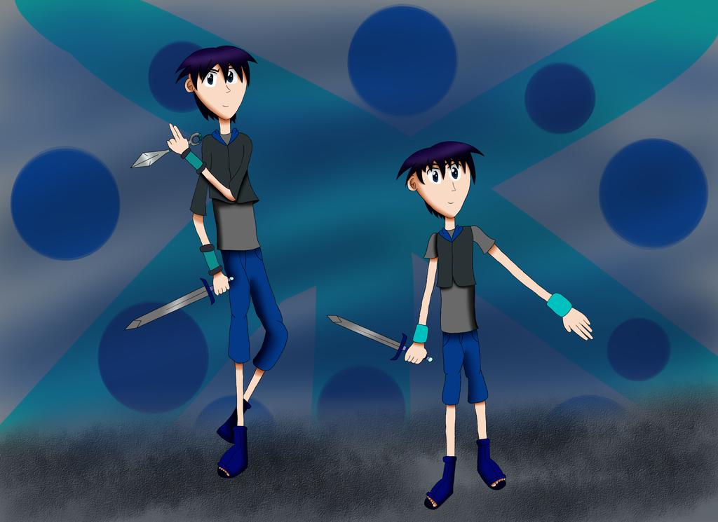 Ninpocho Chronicles: My RP Character, Kashino Yuu by ArtAwakeLight445