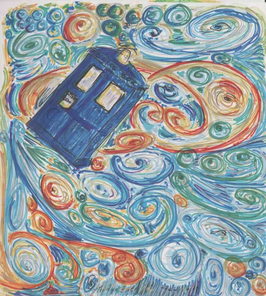 TARDIS Abstract Wat? by BloodyAngelLexus
