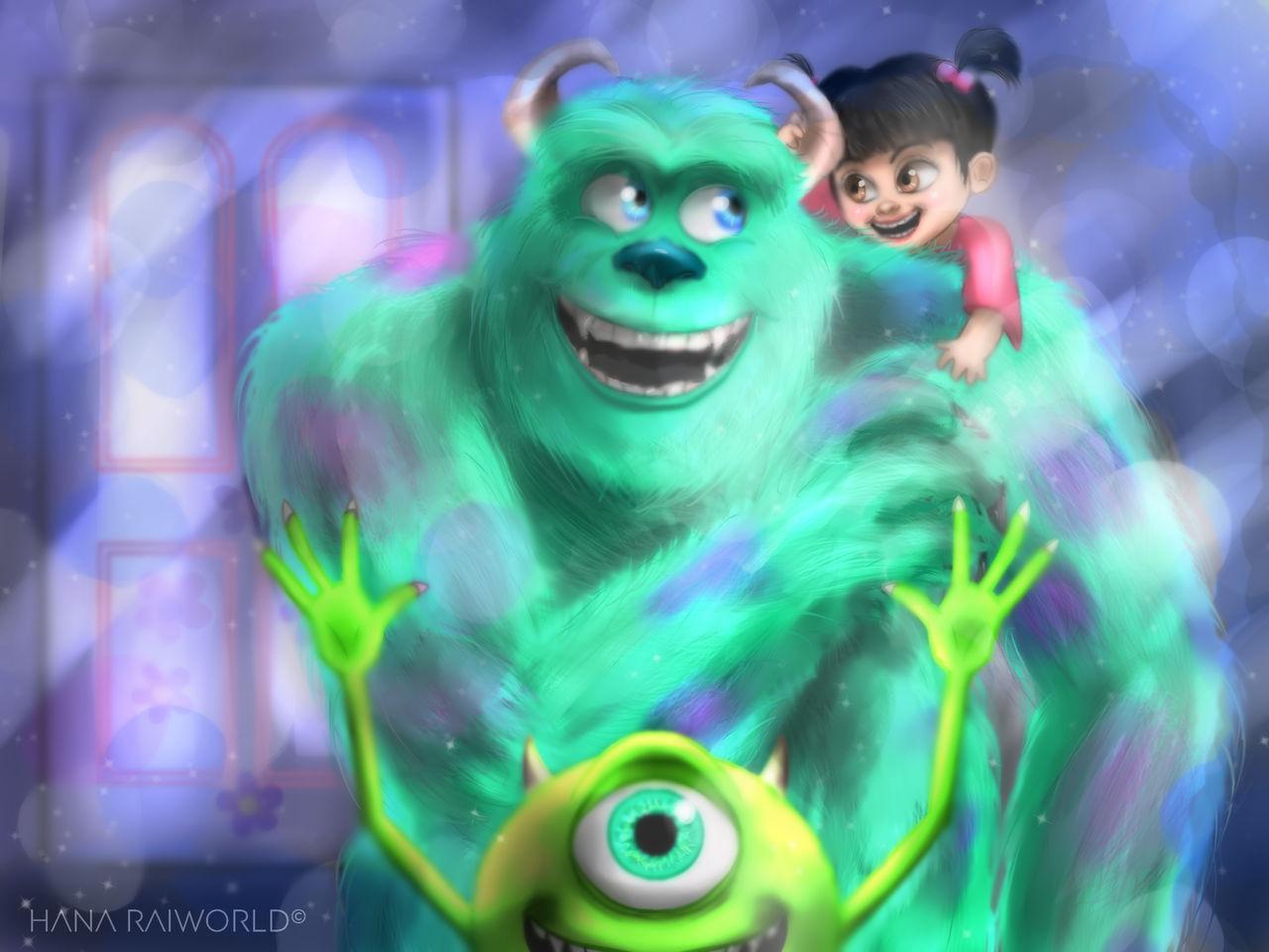 Monster S Inc On Disneyculture Deviantart