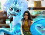 Raya And The Last Dragon by HaNa-RaiWoRLD