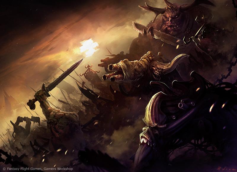 Warhammer 40K - Nurgle by nstoyanov