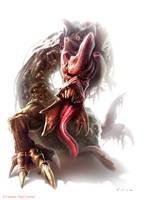 Warhammer 40k - Beast of Nurgle by nstoyanov