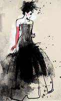 in my dress