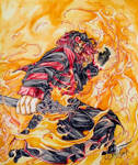 Futures end: Fire inferno by MemoryFragment
