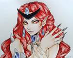 Sailor Moon - Queen Beryl-